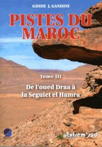 Jacques Gandini - Pistes du Maroc - Tome 3, De l'oued Draa à la Seguiet el Hamra.
