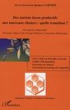 Jacques Garnier - Des anciens tissus productifs aux nouveaux clusters : quelle transition? - Un regard comparatif : Provence Alpes Côte d'Azur, Pémont, Comunitat Valenciana.