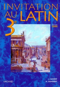 Invitation au latin 3e - Manuel élève, Edition 1999.pdf