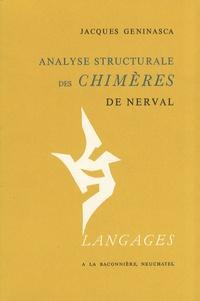 Jacques Geninasca - Analyse structurale des Chimères de  Nerval.
