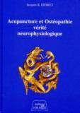 Jacques Gesret - Acupuncture et ostéopathie, vérité neurophysiologique.