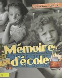 Jacques Gimard et Marie Gimard - Mémoire d'école.