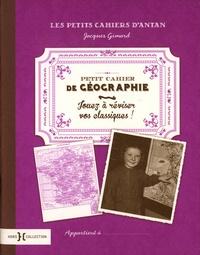 Coachingcorona.ch Petit cahier de géographie - Jouez à réviser vos classiques Image