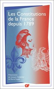 Les constitutions de la France depuis 1789.pdf
