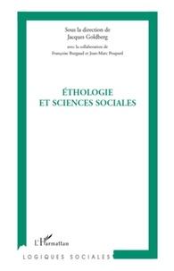 Jacques Goldberg - Ethologie et sciences sociales - Journée d'études interdisciplinaires autour de l'homme et de l'animal.
