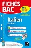 Jacques Guesdon et Dominique Poli - Fiches Bac Italien Tle (LV1 & LV2) - fiches de révision Terminale toutes séries.