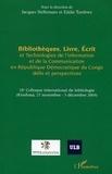 Jacques Hellemans - Bibliothèques, livres, écrit et technologies de l'information et de la communication en république démocratique du Congo.