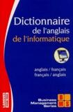 Jacques Hildebert - Dictionnaire de l'anglais de l'informatique anglais/français, français/anglais.