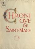 Jacques Isolle et Maurice Pouzet - Chronique de Saint-Macé.