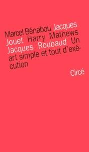 Jacques Jouet et Marcel Bénabou - .