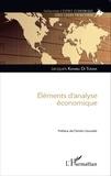 Jacques Kiambu Di Tuema - Eléments d'analyse économique.