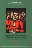 Jacques Krynen et Maryvonne Hecquard-Théron - Regards critiques sur quelques (r)évolutions récentes du droit - 2 volumes.
