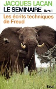 Goodtastepolice.fr LE SEMINAIRE. Livre 1, les écrits techniques de Freud Image