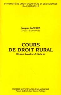 Cours de droit rural - Diplôme supérieur de notariat.pdf