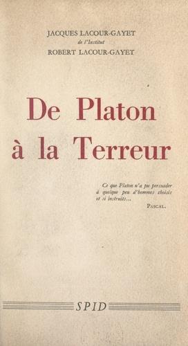 De Platon à la Terreur