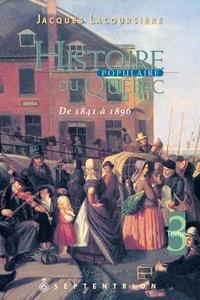 Livres électroniques gratuits à télécharger au format pdf Histoire populaire du Québec, tome 3  - 1841 à 1896 9782897911416 ePub PDF in French par Jacques Lacoursière