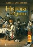 Jacques Lacoursière - Histoire populaire du Québec - Tome 2, De 1791 à 1841.
