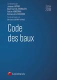 Jacques Lafond et Béatrice Vial-Pedroletti - Code des baux - Commenté.