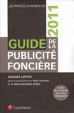 Jacques Lafond - Guide de la publicité foncière. 1 Cédérom