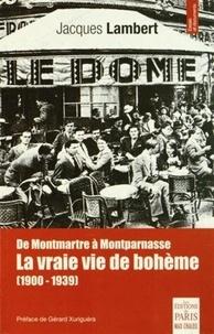 Histoiresdenlire.be De Montmartre à Montparnasse - La vraie vie de bohême (1900-1939) Image