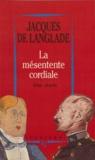 Jacques Langlade - La mésentente cordiale - Wilde-Dreyfus.