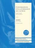 Jacques Lassalle et Jean-Loup Rivière - Conversations sur la formation de l'acteur suivi de Après. 1 DVD