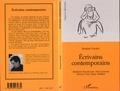 Jacques Layani - Ecrivains contemporains - madeleine bourdouxhe, paul guimard, maurice pons, roger vailland.