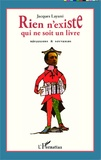 Jacques Layani - Rien n'existe qui ne soit un livre - Réflexions & souvenirs.