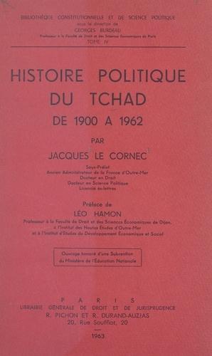 Histoire politique du Tchad, de 1900 à 1962