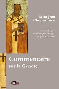 Jacques Le Goff - Commentaire sur la Genèse.