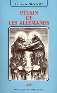 Deedr.fr Pétain et les Allemands Image