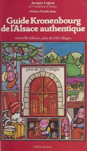 Guide Kronenbourg de l'Alsace authentique