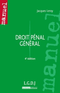 Goodtastepolice.fr Droit pénal général Image