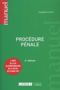 Jacques Leroy - Procédure pénale.