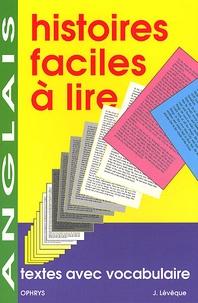 Jacques Lévêque - Textes avec vocabulaire anglais.