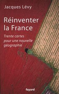 Jacques Lévy - Réinventer la France - Trente cartes pour une nouvelle géographie.