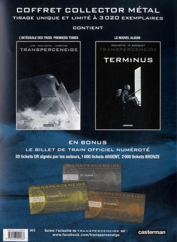 Transperceneige  Coffret en 2 volumes. Transperceneige intégrale ; Transperceneige terminus. Avec le billet de train officiel numéroté