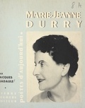Jacques Madaule - Marie-Jeanne Durry.