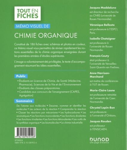 Mémo visuel de chimie organique 3e édition