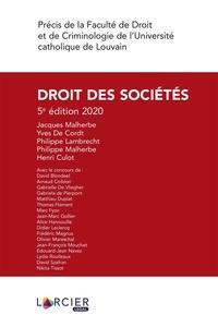 Jacques Malherbe et Yves De Cordt - Droit des sociétés.