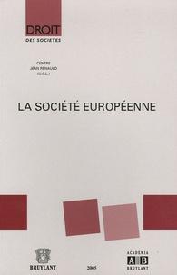 Jacques Malherbe - La société européenne.