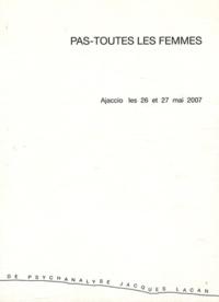 Jacques Marblé - Pas-toutes les femmes - Ajaccio, les 26 et 27 mai 2007.