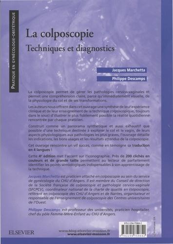 La colposcopie. Techniques et diagnostics 4e édition