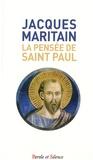 Jacques Maritain - La pensée de Saint Paul.