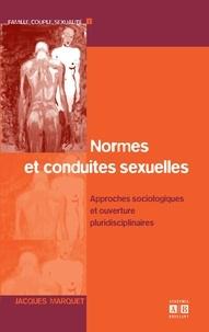 Normes et conduites sexuelles - Approches sociologiques et ouvertures pluridisciplinaires.pdf