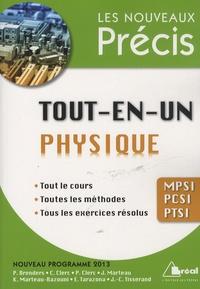 Jacques Marteau et Pierre Brenders - Tout-en-un physique MPSI PCSI PTSI.