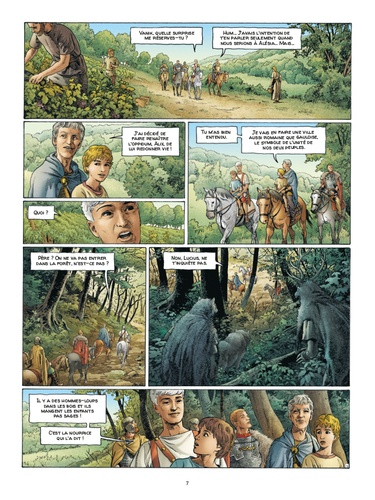 Alix senator Tome 10 La Forêt carnivore -  -  Edition de luxe
