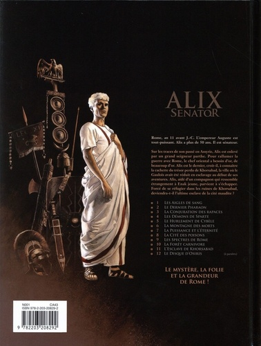 Alix senator Tome 11 L'esclave de Khorsabad