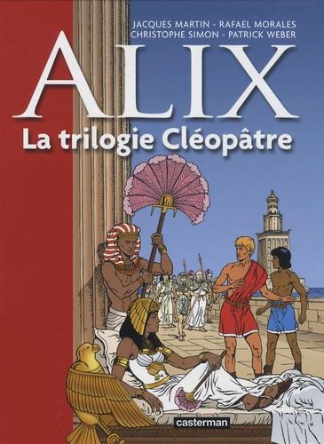 Jacques Martin et Rafael Moralès - Alix Tome 1 : La trilogie Cléopâtre.