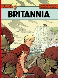 Jacques Martin et Mathieu Bréda - Alix Tome 33 : Britannia.